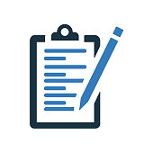 istock Content writing icon / vector graphics 1257231138