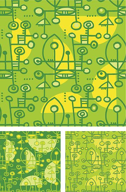 ilustraciones, imágenes clip art, dibujos animados e iconos de stock de continuos fondo verde - tintanegra00