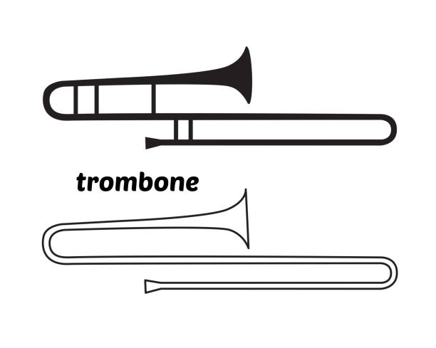 Royalty Free Trombone Clip Art, Vector Images ...  Royalty Free Tr...