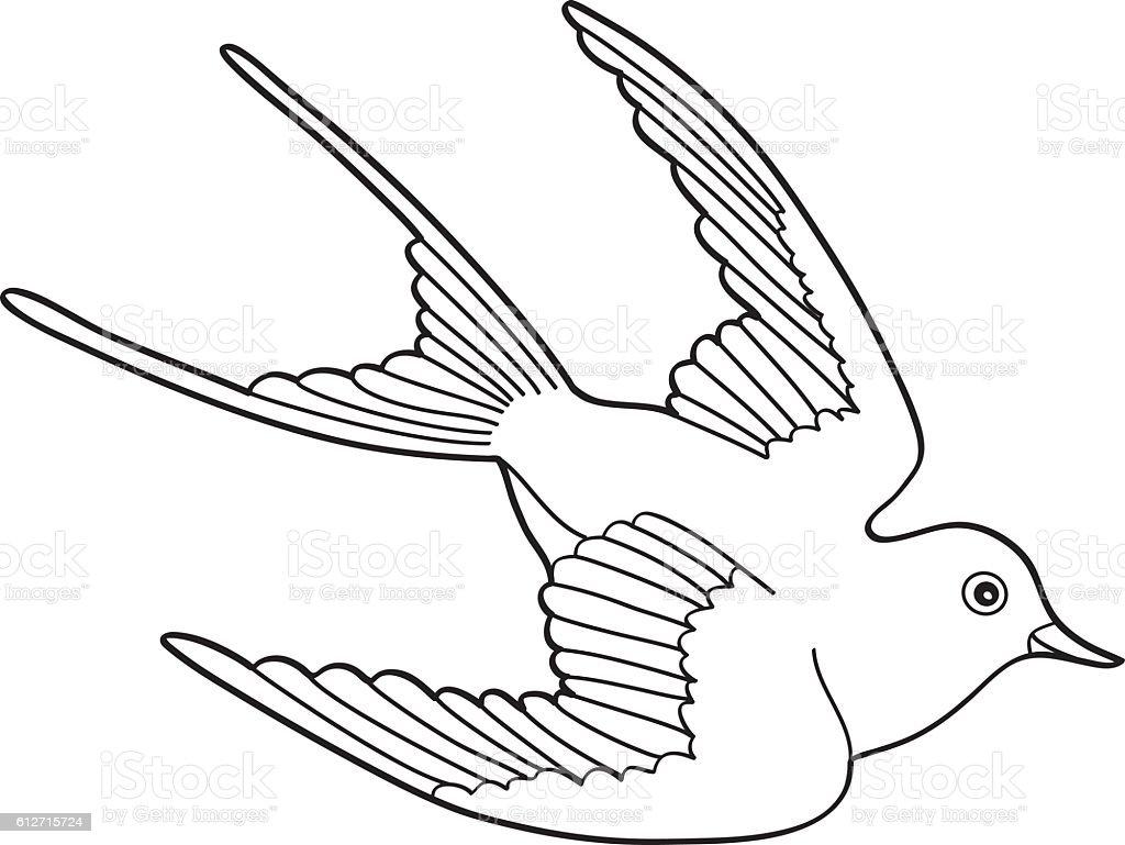 Contour Line Drawing Bird : Pin drawn bird hand birds