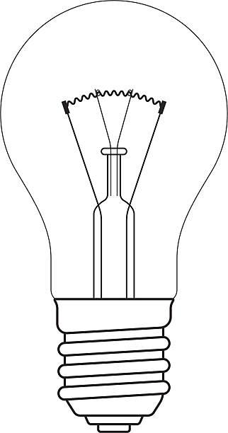 Edison Light Bulb Illustrations, Royalty-Free Vector ...