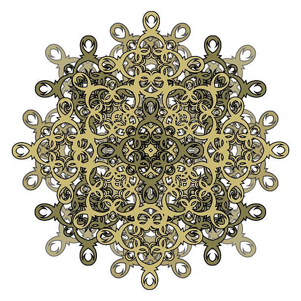 contour, monochrom mandala. ethnische, religiöse design-element - kultfilme stock-grafiken, -clipart, -cartoons und -symbole
