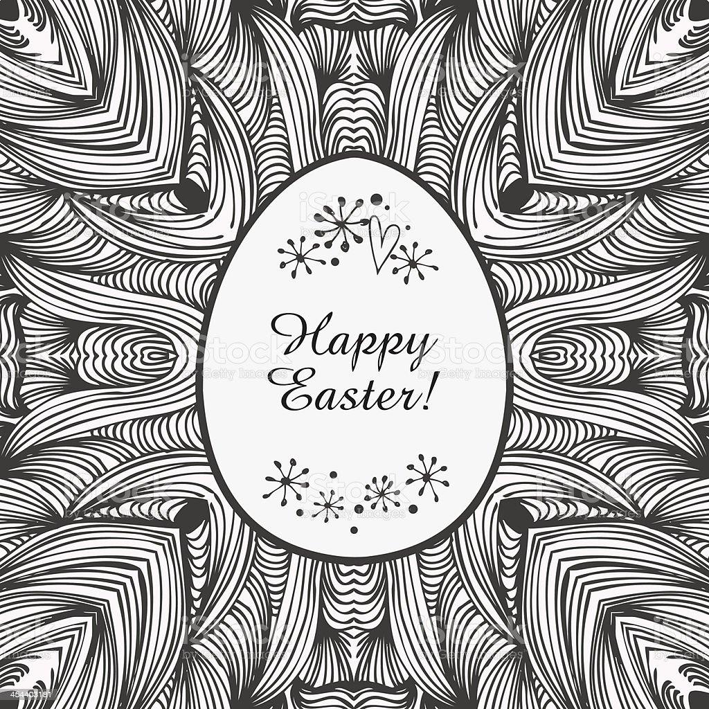 Contour ornamental lace border royalty-free stock vector art