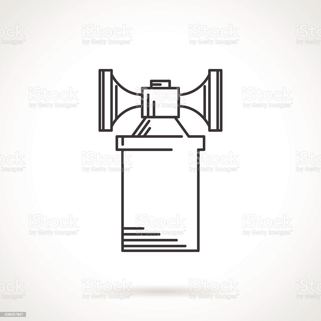 car horn clip art  vector images  u0026 illustrations