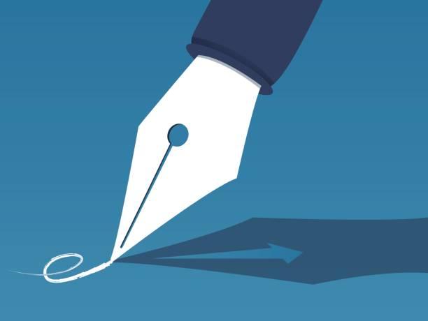 illustrations, cliparts, dessins animés et icônes de contrat et performance - notaire