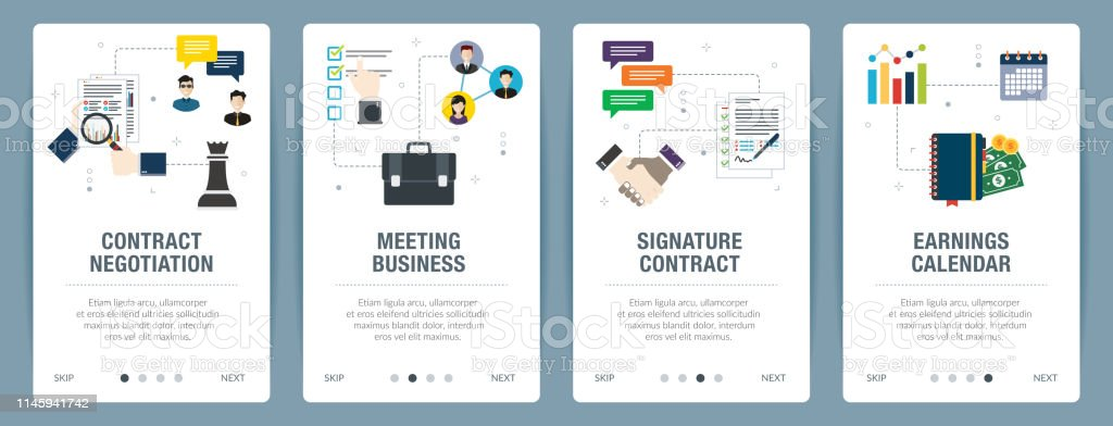 Contract Negotitation Meeting Business Signature Contract
