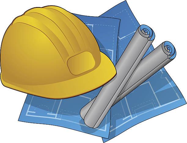 Contractor Icon vector art illustration