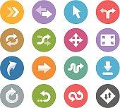 Control Arrows / Wheelico icons
