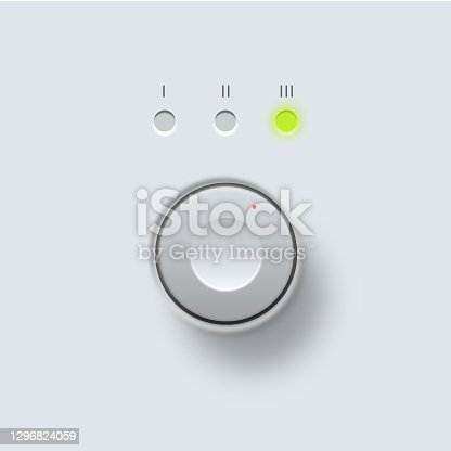 istock Control knob or dial 1296824059