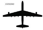 Convair B-36 Peacemaker silhouette