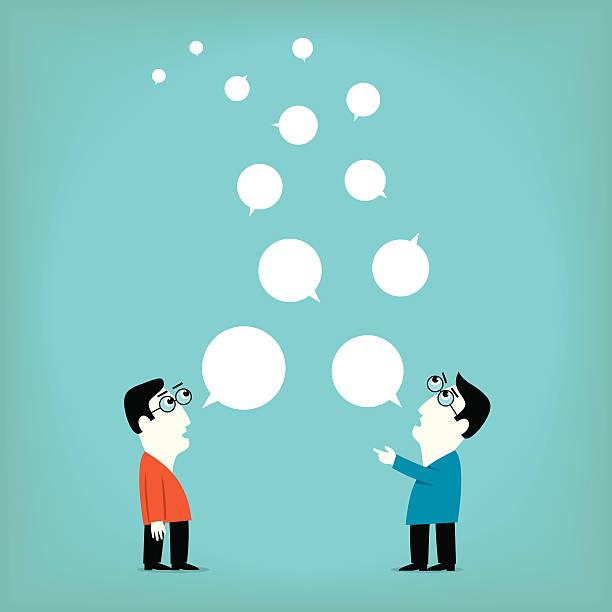 会話 - 翻訳点のイラスト素材/クリップアート素材/マンガ素材/アイコン素材