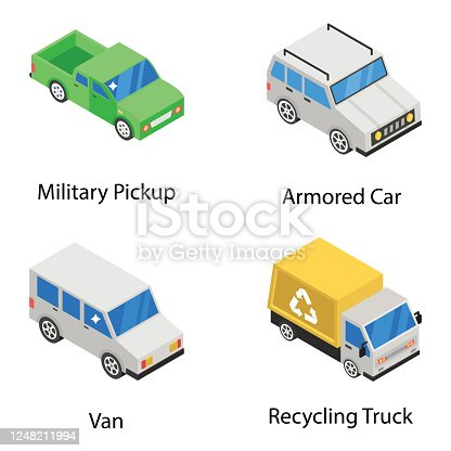 Need a transport related pack? Don't go anywhere, here is what you actually want. We are portraying conveyance and vahicles vectors in isometric style. Editable quality of this set is unique and worthy. Add value to your project and  grab it now!