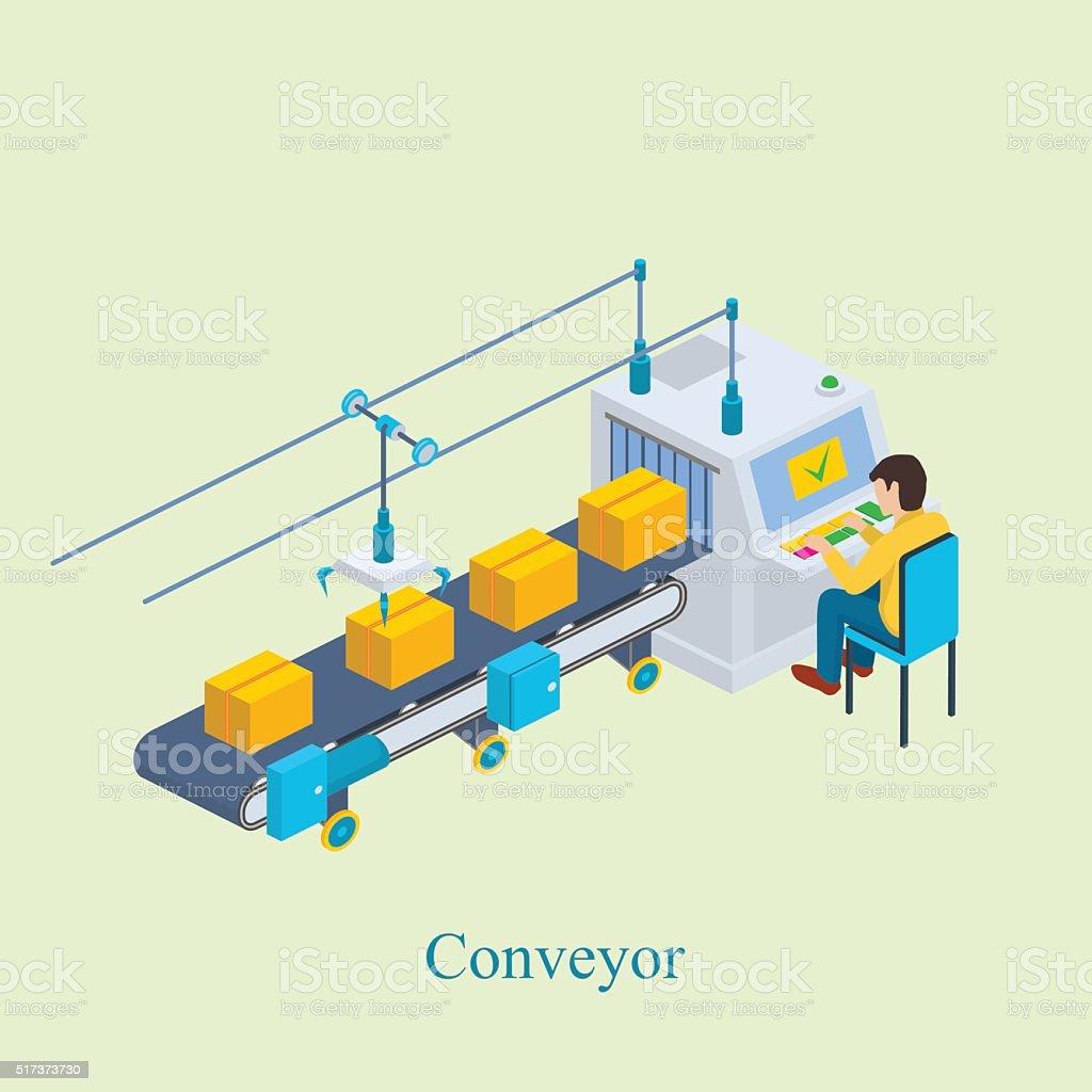 Конвейер простой рисунок каравелла и транспортер в чем разница