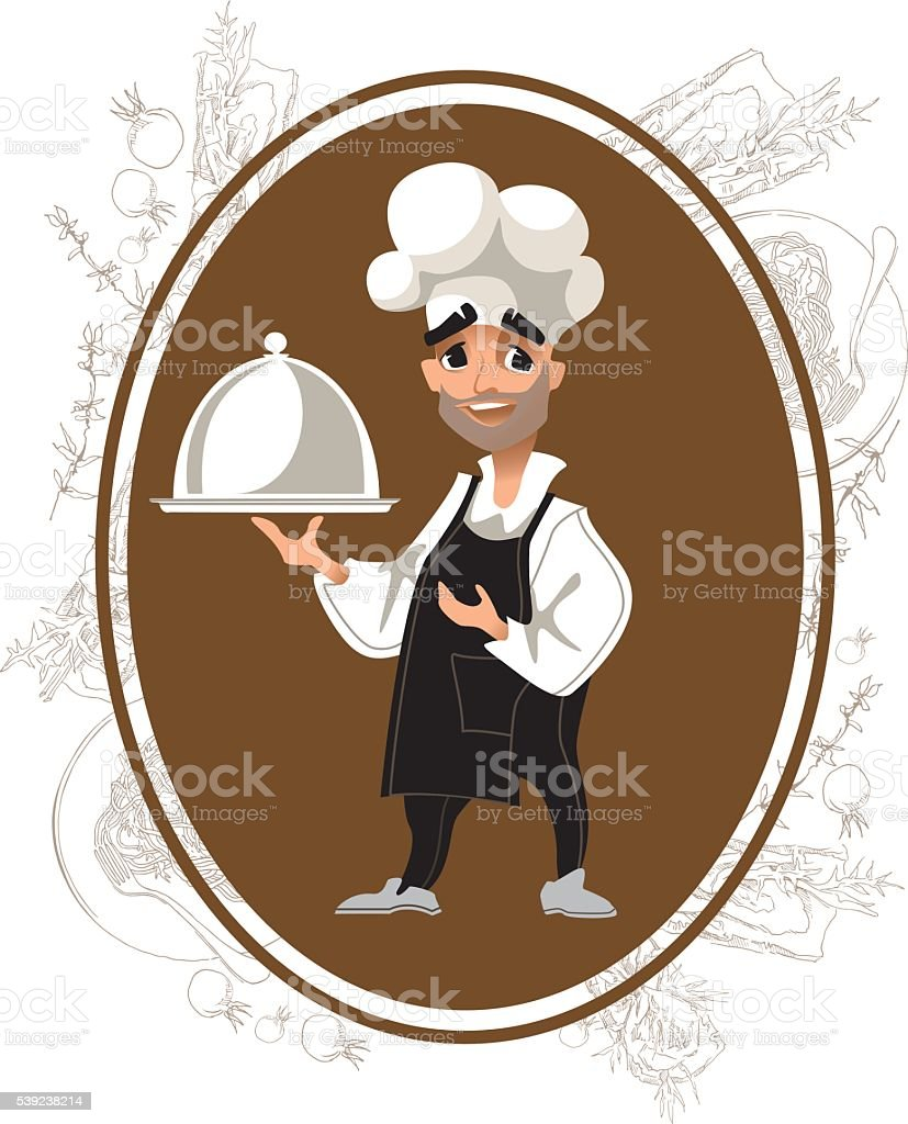 Cook chatacter. Vector illustration. Cartoon style. royalty-free cook chatacter vector illustration cartoon style stock vector art & more images of adult