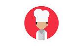 Cook Person Icon