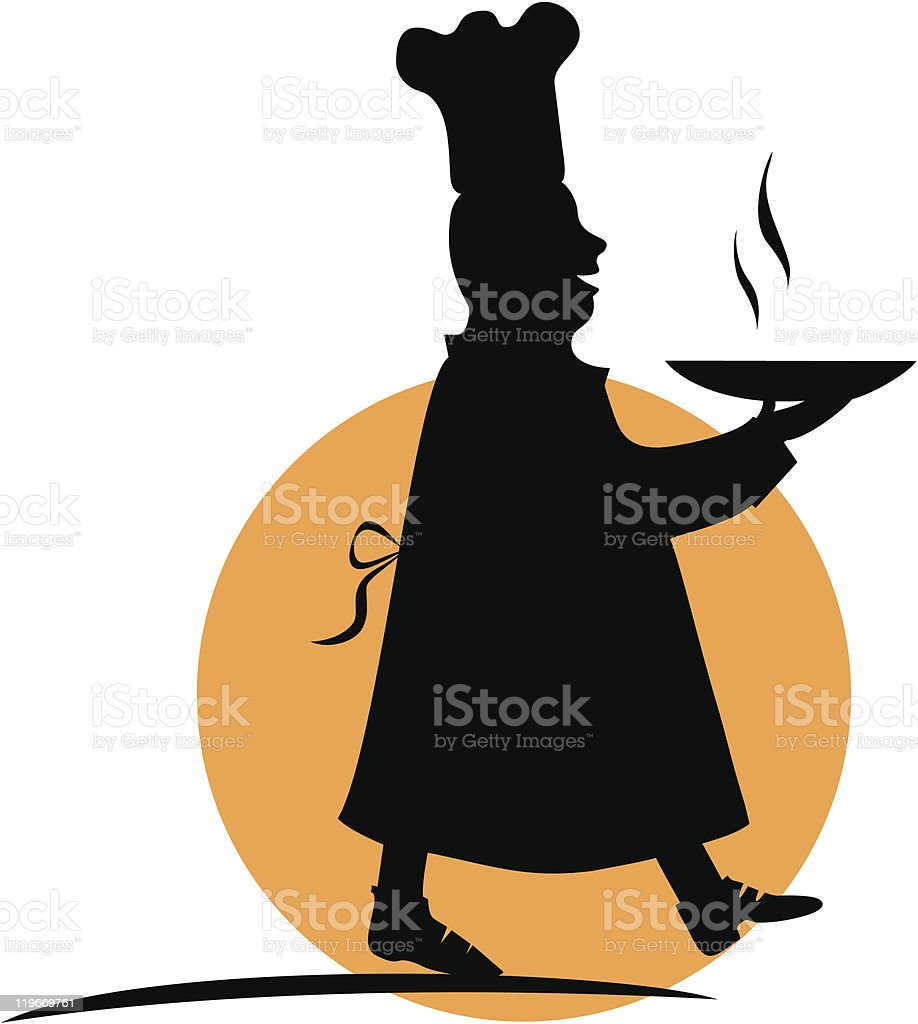 Cook royalty-free stock vector art