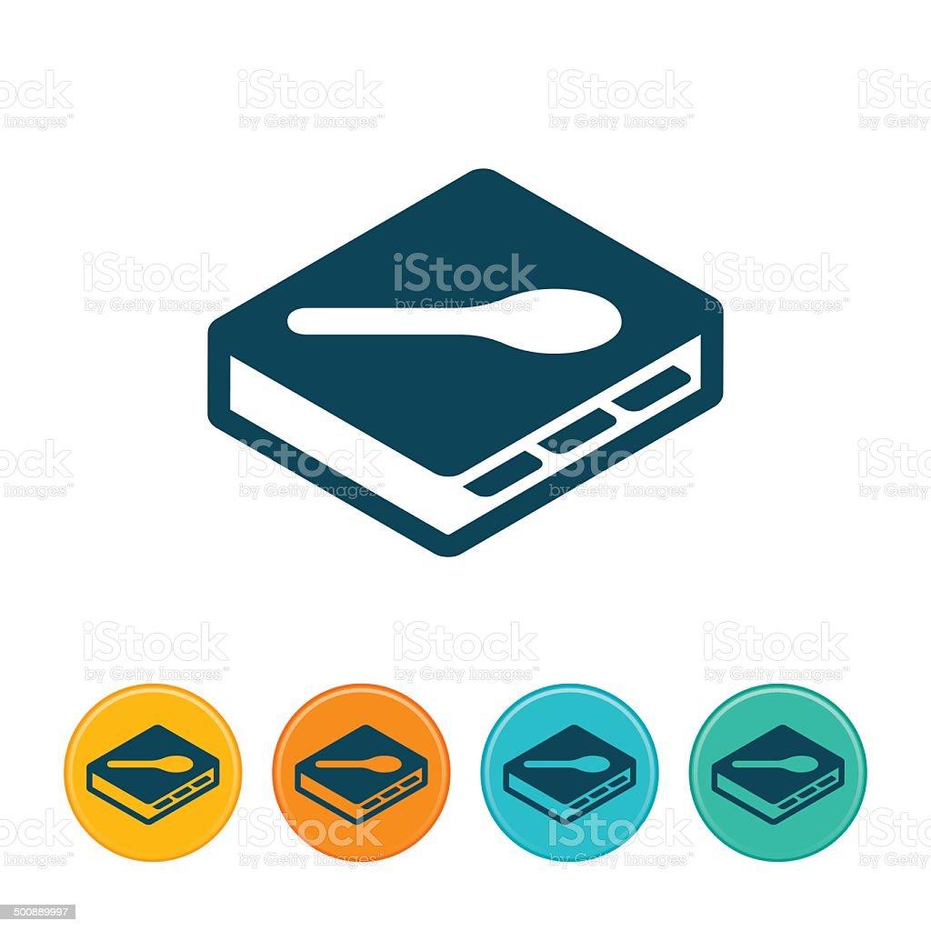 Cookbook Icon vector art illustration