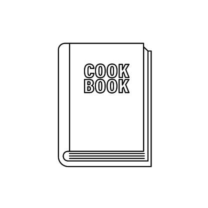 Cookbook Kitchen Thin Line Icon