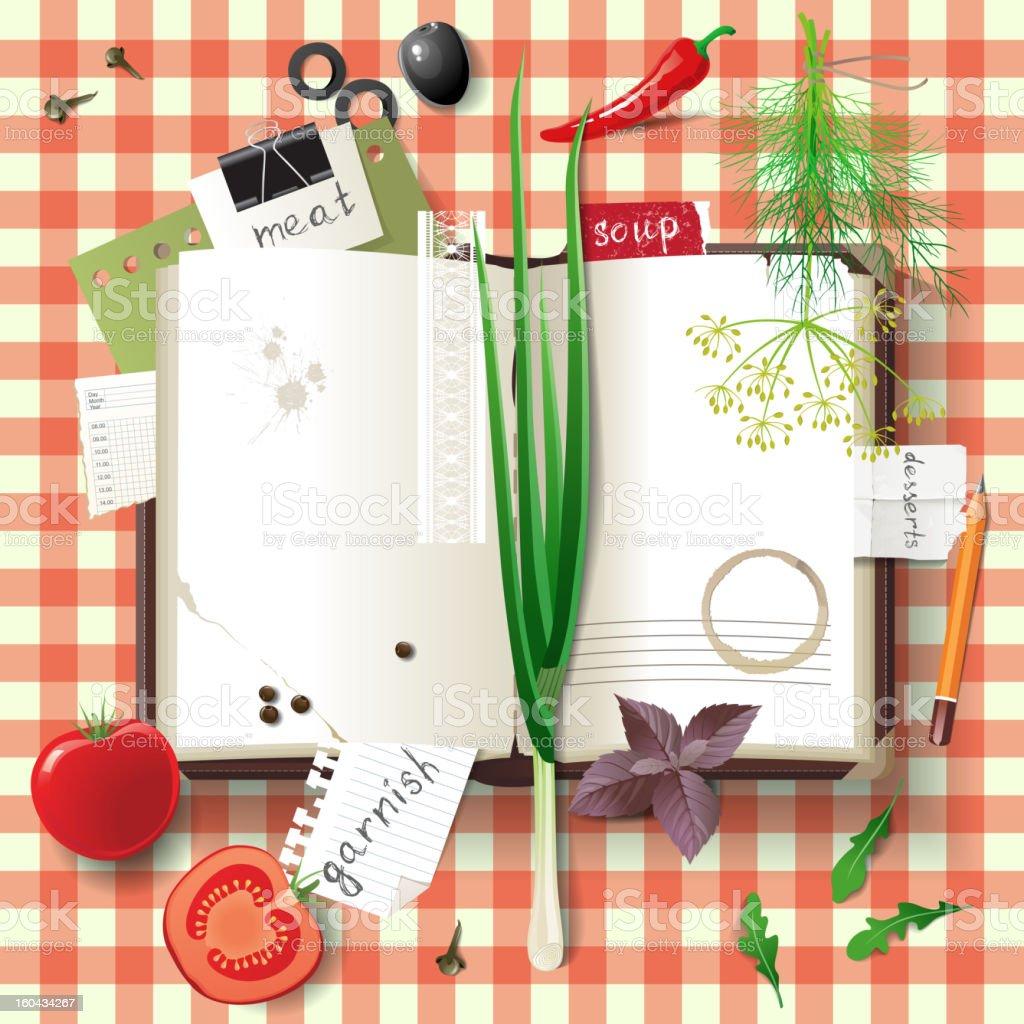 cookbook royalty-free cookbook stock vector art & more images of arugula
