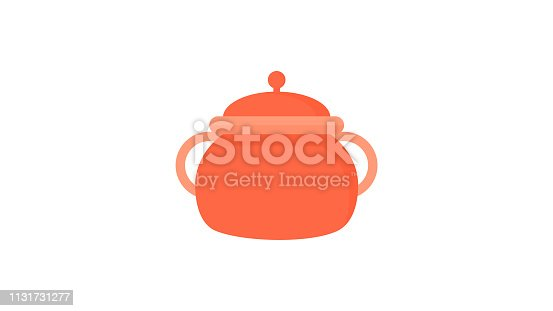 istock Cooker jar Kitchen cookware Icon 1131731277