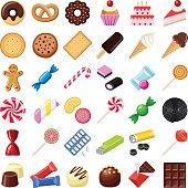 クッキーやキャンディー