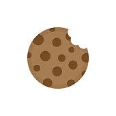 istock Cookie round icon 1188616475