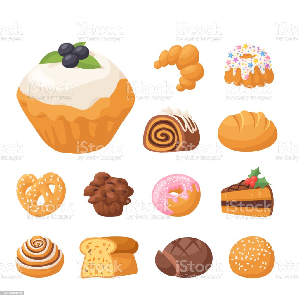Cookie vector cakes tasty snack delicious chocolate homemade cookie pastry biscuit cakes sweet dessert bakery food illustration vector art illustration