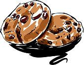 istock Cookies Drawing 951836218