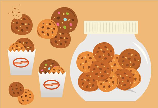 ilustrações de stock, clip art, desenhos animados e ícones de define os'cookies' - bolachas