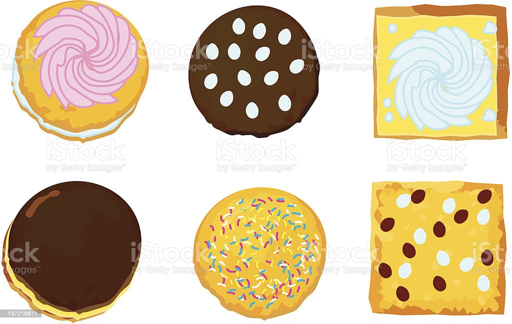 cookies royalty-free cookies stock vector art & more images of afternoon tea