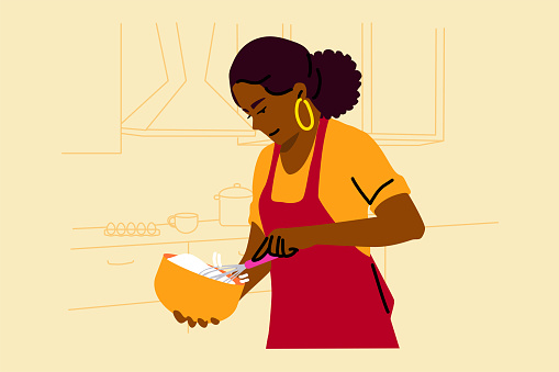 Cooking, baking, hobby, food, preparation concept