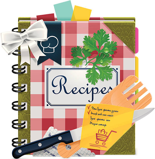 Best Cookbook Illustrations, Royalty-Free Vector Graphics ...