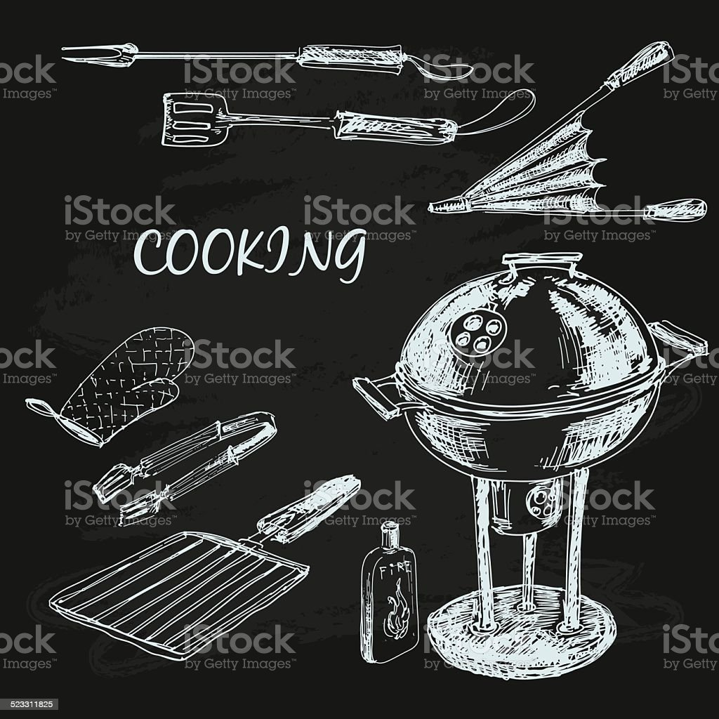 Cooking collection vector art illustration