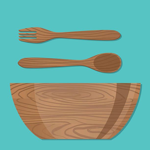 Royalty Free Salad Bowl Clip Art, Vector Images ...