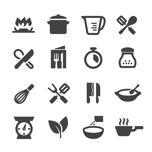 Cooking Icons - Acme Series View All: measuring cup stock illustrations