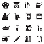 Kitchen, Chef, Cooking, Appliances