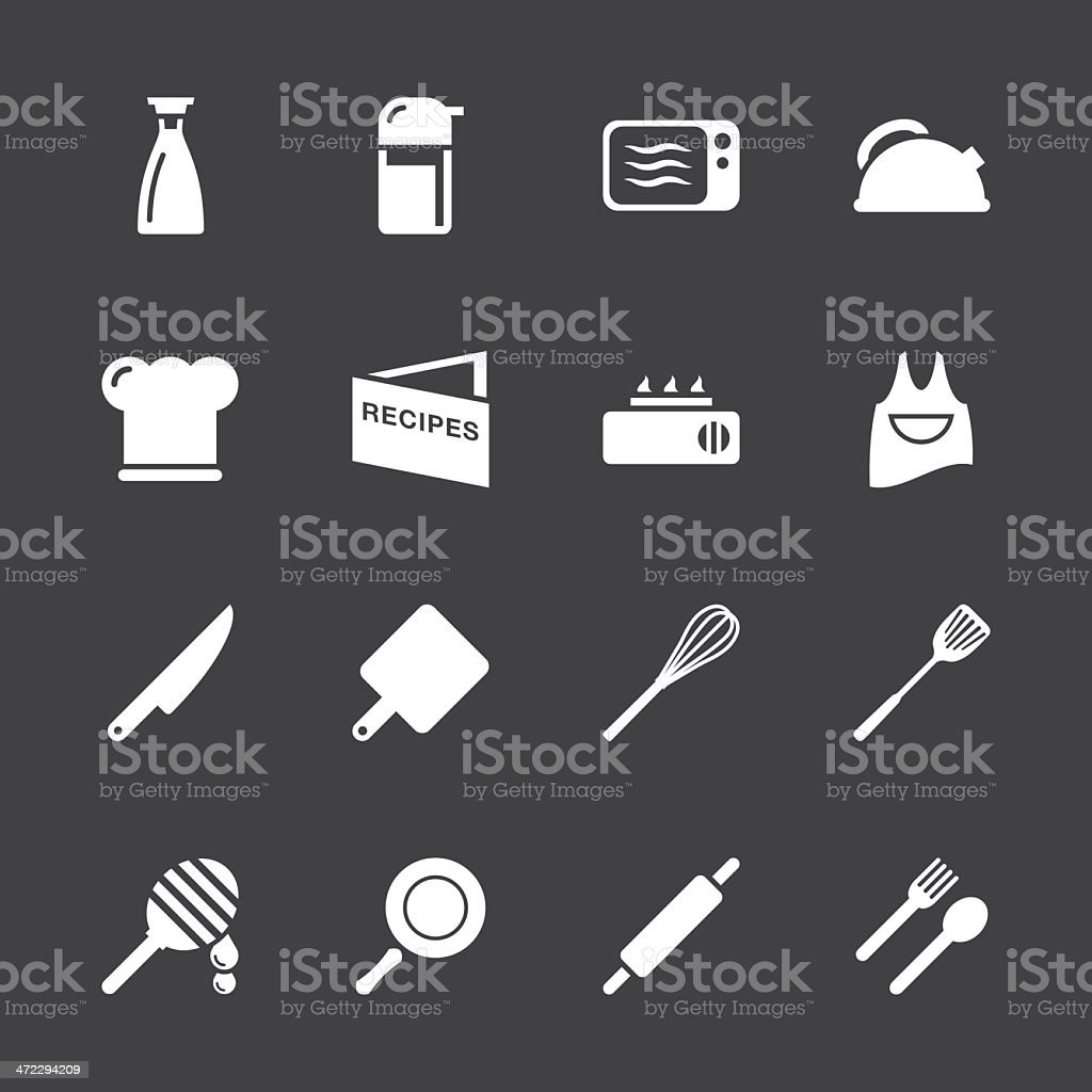 Cooking Icons - White Series | EPS10 royalty-free cooking icons white series eps10 stock vector art & more images of appliance