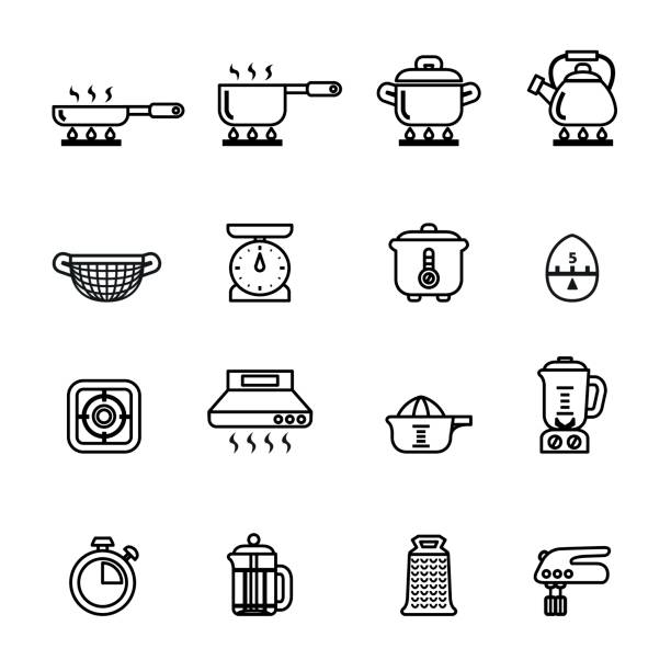 13c78547038 Royalty Free Kitchen Scale Clip Art