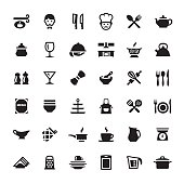 Cooking & Kitchen Utensil vector symbols and icons