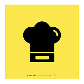 Cooking Monochrome Icon