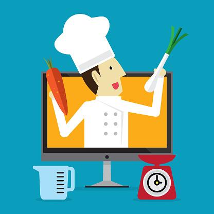 Cooking online