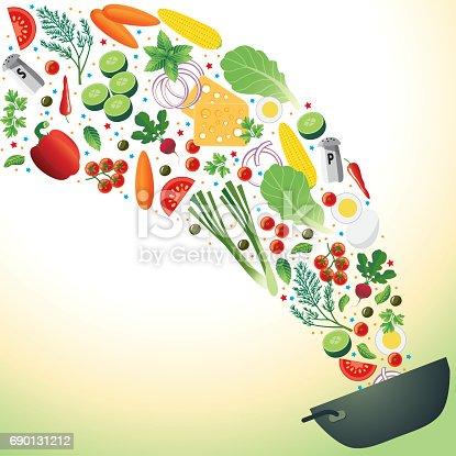 istock Cooking Salad 690131212