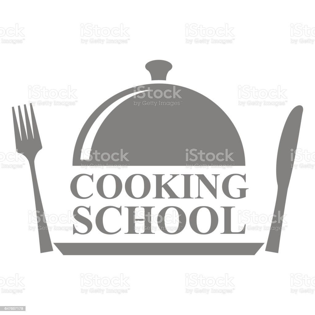 École de cuisine - Illustration vectorielle