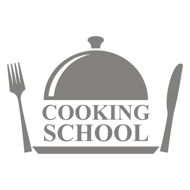 kochschule - nahrungsmittelindustrie stock-grafiken, -clipart, -cartoons und -symbole