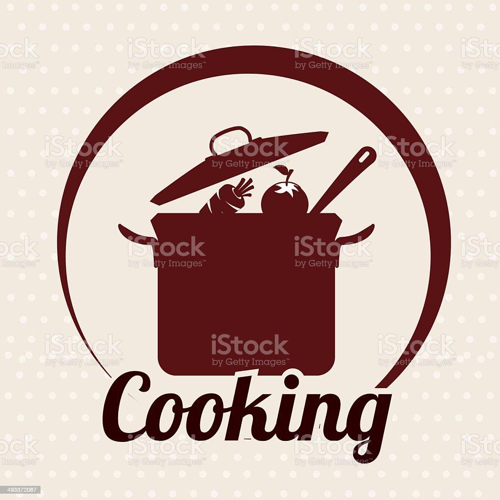 cooking vector art illustration
