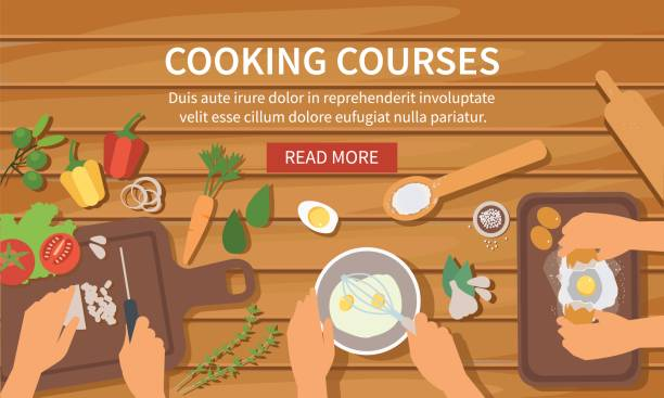 kochen  - küchensystem stock-grafiken, -clipart, -cartoons und -symbole