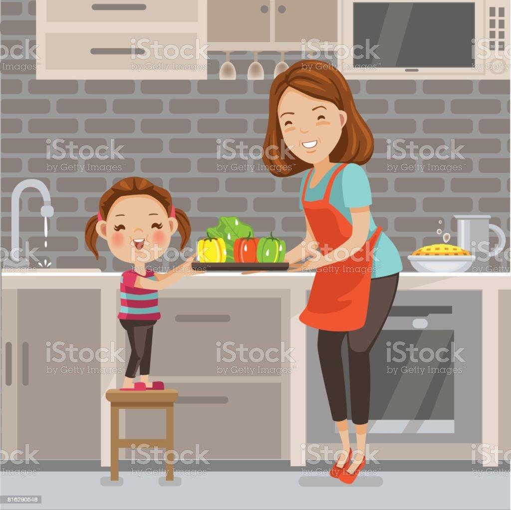La cuisine  - Illustration vectorielle