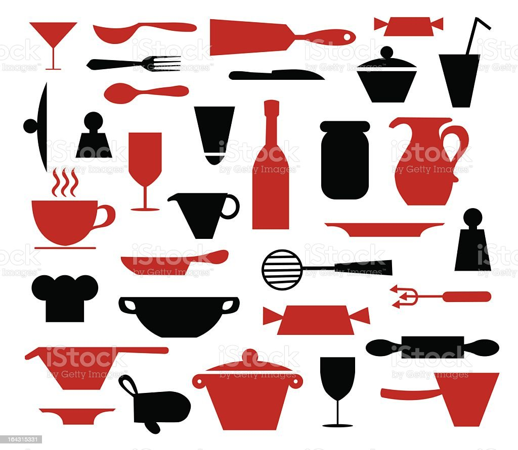 Cookware icons royalty-free cookware icons stock vector art & more images of back lit