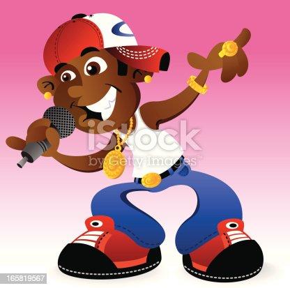 istock Cool Hip Hop Dude 165819567