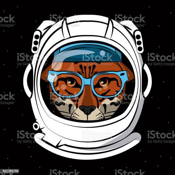 Cool leopard on astronaut helmet print for t shirt vector id932259766?b=1&k=6&m=932259766&s=612x612&h=zqwdw1pqh3bpmsaa1uc h4 pgd ieowzdnc2kj ugnw=